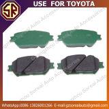 Het concurrerende Gebruik van Stootkussens 04465-33320 van de Rem van de Delen van de Prijs Auto voor Toyota