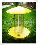 Insecte solaire, Monsquito, mouches, mite, lampe de tueur de cancrelat extérieure