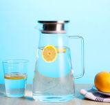 耐熱性ホウケイ酸塩ガラスのやかんの茶鍋ジュースの鍋の冷たい飲み物の鍋
