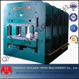 Máquina de vulcanización de prensa de la máquina de goma caliente de la placa