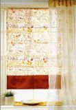 Windows Shades Fabric Roman Blinds with Patterns Fabric, Waterproof Sunscreen (DC#1401)