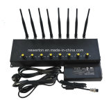 Neuer Antennen-Handy-Signal-Hemmer WiFi GPS des Schreibtisch-8 Hemmer
