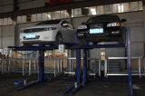 Elevador do estacionamento do borne elétrico hidráulico da liberação quatro auto/elevador estacionamento do carro