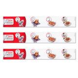Etiqueta engomada del animal doméstico de la etiqueta adhesiva de la impresión en color \ etiqueta engomada de papel \ PP Sitcker