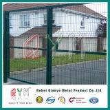 塗られた溶接された網の塀/PVCは金網ハイウェイの塀を溶接した