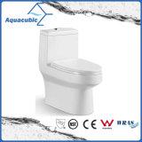 Toalete cerâmico do armário de uma peça só de Siphonic do banheiro (AT1000)
