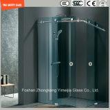 Регулируемое стекло рамки 6-12 нержавеющей стали & алюминия Tempered сползая просто комнату ливня, приложение ливня, кабину ливня, ванную комнату, экран ливня