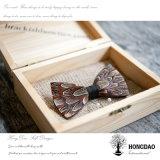 El color natural hecho a mano o la antigüedad de Hongdao modificó el _E de madera grabado del rectángulo para requisitos particulares de regalo de la insignia