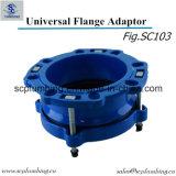 Adaptador e acoplamento Ductile da flange do ferro de molde