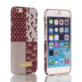 Pattern colorido Leather Argumento Cover para o iPhone 6