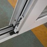 Double porte de tissu pour rideaux de la couleur Kz222 de lames inégales en aluminium enduites blanches de poudre