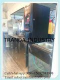 Carrello personalizzato elettrico del rivenditore dello spuntino e degli alimenti a rapida preparazione