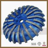 Паяемые вакуумом колеса профиля диаманта для камня (SY-BDPW-1000)