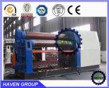 Machine à cintrer de roulis de plaque du rouleau W12S-40X2000 quatre