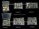 Отверстия шлицев контейнера 6/30 подноса яичка триперсток устранимого волдыря изготовления Кита пластичные