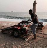 Máquinas de la limpieza de la playa