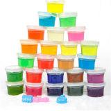 Lama mágica do Slime do brinquedo educacional de cristal da cor do solo