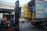 Boyau en caoutchouc hydraulique de spirale de fil de la qualité 4sh d'en 856 DIN