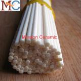 Alúmina de cerámica 99.7% Rod del aislante de la pureza elevada