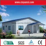Edificio prefabricado modular de la estructura de acero