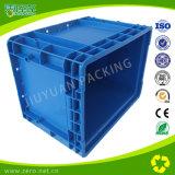 青いカラーPlatsicのパッキング工場EUの容器
