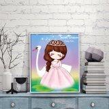 Sticker FK-031 van het Kristal van de Kinderen DIY van de Kunst van de Muur van de Decoratie van het Huis van de fabriek Directe In het groot