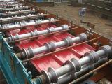 転送させる機械をカラーによって塗られる鋼鉄屋根ふき機械を形作る