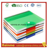 PVC Cover Notebook per School e Office Supply