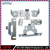 Hoja de aluminio fresado CNC de alta precisó metal pieza estampada