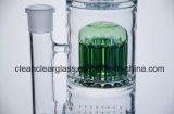 Pipe de fumage en verre Individu-Marquée par vente en gros de conduite d'eau avec 12-Arm Perc et Showerhead Perc