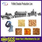 Linha de produção dos petiscos/petisco soprados que faz a máquina/máquina do alimento