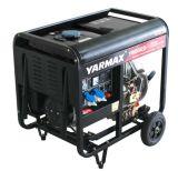 Gerador 4.8kw Diesel aprovado do Ce de Yarmax para a central eléctrica ou a eletricidade Home da fora-Grade