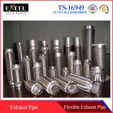 Tubo de la flexión, tubo flexible del extractor del coche, tubo flexible del extractor del omnibus