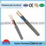 Tipo de cabo BS6004&IEC60227 liso padrão de venda quente BVVB
