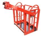 Поднятая платформа стыковки нагрузки хранения стальная Grating