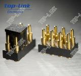 Doppio connettore di Pin placcato oro di Pogo di riga