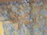 Ткань шнурка высокой ранга с конструкциями