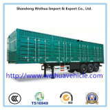 Kasten-LKW-Schlussteil China-Heavy-duty Dry Van Cargo Trailer
