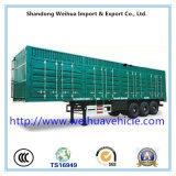 De Aanhangwagen van China Van Type Semi, de Aanhangwagen van de Vrachtwagen van de Doos met de Prijs van de Fabriek