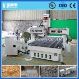 400 Mm Altura de la Máquina Multipropósito Engravor Eje de Rotación Ww1325h la Carpintería del CNC