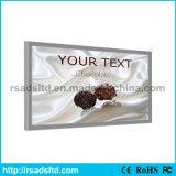 Напольная афиша индикации светлой коробки ткани алюминия СИД