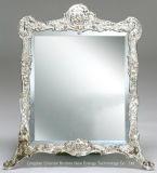2m m, 3m m, 4m m, 5m m, 6m m espejo de plata, vidrio, espejo del cuarto de baño, espejo decorativo, surtidor de China