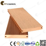 Decking composto plástico de madeira do composto do sulco da doca