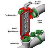 De grote Filter van het Water van de Stroom Automatische Achter Spoelende
