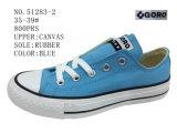 No. 51283 Shoes 숙녀의 즈크화 학교 단화