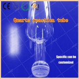 Tube de four d'oxydation de quartz, tube de meulage de four à diffusion de bouche