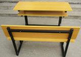 Silla de escritorio primaria al por mayor del estudiante de la escuela del banco del doble de los muebles de la sala de clase