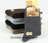 Winter-Mann-Kaninchen-Wollen, die warme Kaschmir-Terry-Socken verdicken