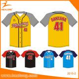Honkbal Jersey van het Team van de Douane van de Sublimatie van de sportkleding het Goedkope