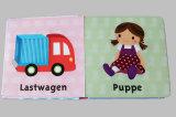 Livre de sensation de contact d'enfant pour des enfants